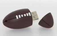 American football USB 2.0 Memory Stick Flash pen Drive 4GB 8GB 16GB 32GB UP250