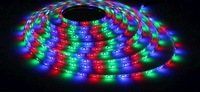 5M Roll 3528 SMD 60 LEDs/M 300 LEDs Warm Cool White Red Green Blue Yellow RGB Flexible LED Strip Light For Christmas gift