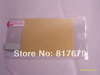 Free shipping 1000pcs/lot For iphone 5 5G clear screen protector guard lcd protector film Front+cloth support dropship
