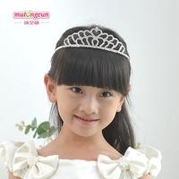 Child formal dress flower girl princess dress accessories bling accessories hg09