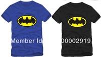 Free shipping 2014 new sale brand batman logo printed bat man t-shirt sports tee tshirt 100% cotton short t shirt  6 color