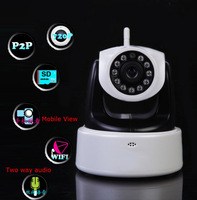 HD 1MP IP Camera wifi, H.264 PT wireless Ip Camera With Ir-Cut,hd ip cam wireless,Support Iphone Android Windows mobile  monitor