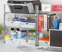 MINI ORDER $20 (CAN MIX OEDER) (2pcs / lot ) Inomata plastic bathroom storage basket / desktop finishing basket
