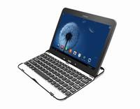 Original Brand Portable Aluminium Wireless Bluetooth Ultra Slim Detachable ABS Mute Keyboard For Samsung Galaxy Tab 3 P5200 5210