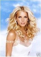 Free Shipping women blond wigs hair wigs made