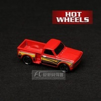 Mattel Hot Wheels Xuefulan 69 CUSTUM Pickup red alloy toy car  084#