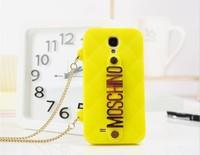 2013 Fashion New Brand Handbag Bag Case Silicone Milan Back Cover Case for Samsung Galaxy S4 i9500  , Free shipping