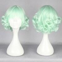 New fashion Free shipping  30CM short ice green Beautiful lolita ice green wig