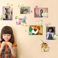 Cartoon child beijingqiang living room decoration wall stickers photo frame