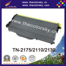 (CS-TN360) Bk print top premium toner cartridge for Brother tn2175 tn2110 tn2130 hl2130 hl2150N hl2140 hl2170w (2600Pages)