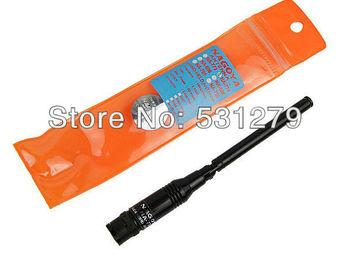 5xBNC UHF+VHF Handheld Foldable Telescopic Walkie talkie Antenna for BF-UV3R TH-UV3R Kenwood Motorola NAGOYA NA-774 Radio J0242A