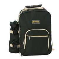Outdoor 4 picnic bag bbq bag tableware combination set backpack