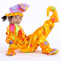 Free shipping ! 2013 new baby perform wear ,kids cosplay clown clothes set ,Child novel clothing set ,3-pieces suit .