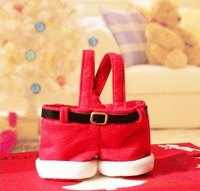 Santa pants style Christmas candy gift bag for lover/marry free shipping high quality 110pcs