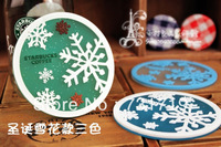 Wholesale  Christmas snowflake series coasters  Potholder