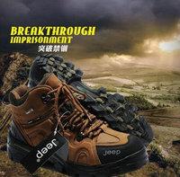 Free shipping 2013 Outdoor 3537 tall waist assault commando desert camouflage tactical boots shoes