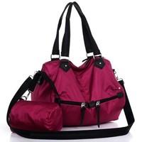 free shiping 2013 women's designer handbag 2piece per set one shoulder cross-body fashion sports casual big bag