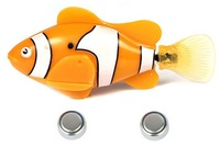 2013 Free FedEx shipping New Robot fish 120pcs/lot Magical Turbot Fish Electronic Swimming Fish Magical Robo fish