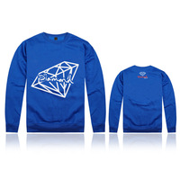 free shipping hotsale 2013 new arrival diamond Hoodie,Pullover,Men obey Hoodie with discount
