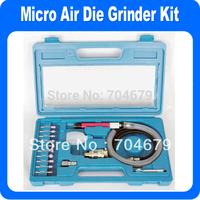 "NEW 17pcs 1/8"" Micro Air Pencil Die Grinder Tool Pneumatic  3mm"