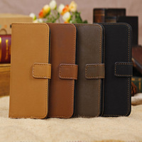 Fashion Luxury Mobile Phone Case Cell phone Cover Leather Case For Iphone 5C Four Colors Free Shipping