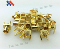 10 PCS mcx female jack connector PCB Installation straight connector MCX-KE Free shipping