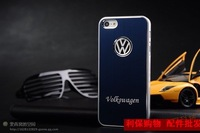 Volkswagen logo Aluminum Ultra-thin costly hard case cover For Iphone 5 5S