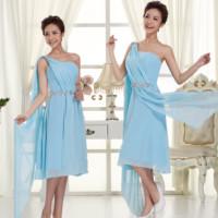 2013 bridesmaid dress formal dress short design