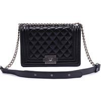 Cowhide handbag fashion shoulder bag messenger small  chain vintage 2014 2013 winter new arrival