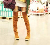 2013 Autumn and winter boots snow boots gaotong martin boots platform shoes women's over-the-knee 25pt knee-high boots