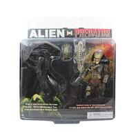 "NECA 2-PACK Alien Vs PREDATOR Action Figure Set 7"" New In Box"