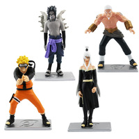 New 4pcs Janpanese Anime Naruto Figure