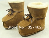 FREE SHIPPING + 100% Australian Sheep Fur One Boots For Children, Baby Shoes, Baby Toddler Shoes, Cotton Shoes