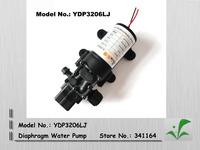 HOT SALE!!! diaphragm water pump for car washing, garden used, small 12V, 4.5L/min, 5A, hydraulic diaphragm pump