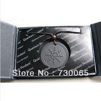 Free shippng 50% sales Quantum Science Scalar Energy Pendant Necklace 2500-3500cc with energy card and box