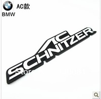 New  Modified AC Schnitzer Fender Car Badge  3D Logo sticker Emblems Free Shipping