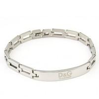 (Minimum order $ 10) 01 simple planar silver Man Women Titanium Steel bracelets wholesale jewelry factory Fashion new 2014