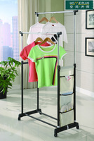 Double pole clothes hanger bag double pole floor lift mtly013