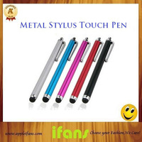 Metal Capacitive Touch Pen Stylus For Iphone Ipad For 5Pcs/Lot