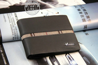 Free shipping 2013 Bailini new stylish Men wallet+genuine cow Leather +Pockets RFID Card Clutch Cente Bifold Purse dropshipping
