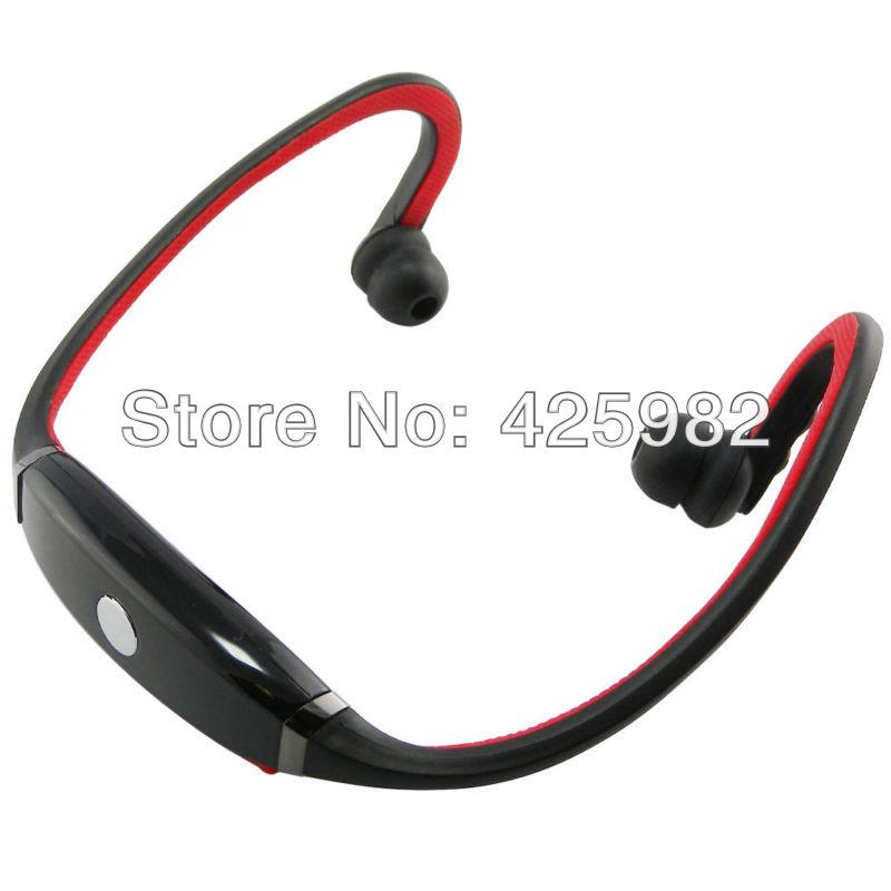 Discount Novelty Travel Portable On-Ear Foldable Headphones Letter Initial Damask Elegant Red Black - Letter B Initial