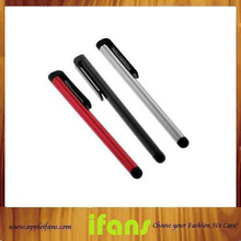 Plastic Capacitive Touch Pen Stylus For Iphone Ipad For 10Pcs/Lot(Hong Kong)
