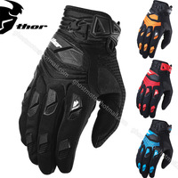 2014 Thor MX Deflector Gloves Motorcycle Motorbike Bike Cycling Motocross Gloves Off Road Racing MTB ATV GEL MX Bicycle Gloves