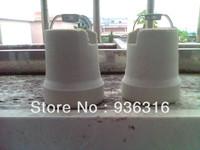 Free shipping new Edison light bulb lamp Bases, ceramic lamp Bases, ceramic lamp Bases holder, 10pcs/lot E27 Edison copper knob