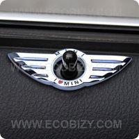 2013 3D stickers + metal car logo + wings labeling for door switch + mini cooper car stickers + MINI John Cooper Works