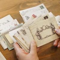 Free Shipping 24pcs/lot Zakka vintage envelope mini size 7.3*9.5cm