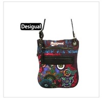 Desigual Authentic Messenger bag big European and American Spanish national wind shoulder handbags Colorful street