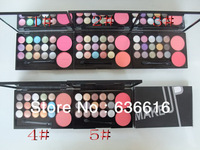 Free Shipping Color Eye Shadow Makeup Palette15 COLORS  Eyeshadow  & 2 blusher