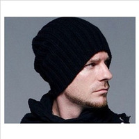 Ms popular hat man han edition tide in the fall and winter fashion hat sets winter warm knitted cap wholesale