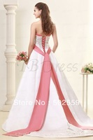 LC016 free shipping off the shoulder sweetheart sleeveless appliques fancy wedding dress